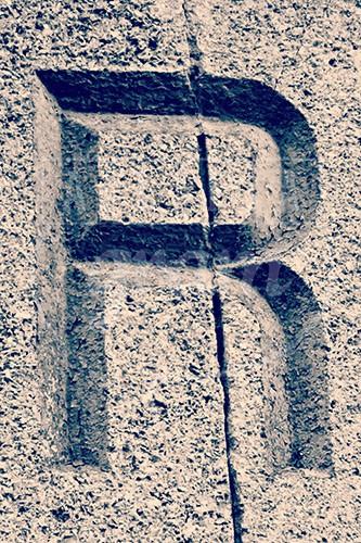Zentangle Letter R Monogram Drawing | Zentangle ? Alpha/Numeric ...