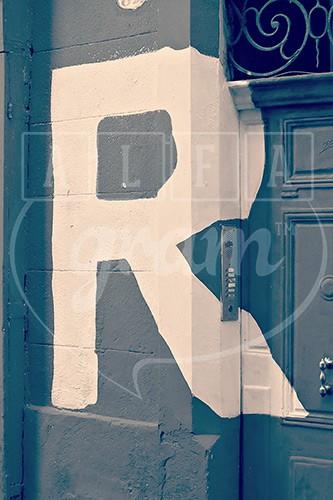 Alphabet photography. Alfagram. Art letter R. (2) - Alfagram