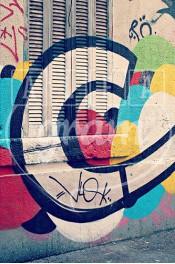 Alphabet photography, alfagram, letter art, C graffiti marseille, photo gift.