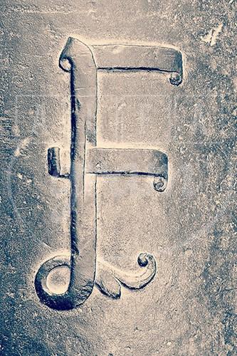 Alphabet photography. Alfagram. Letter art F. - Alfagram