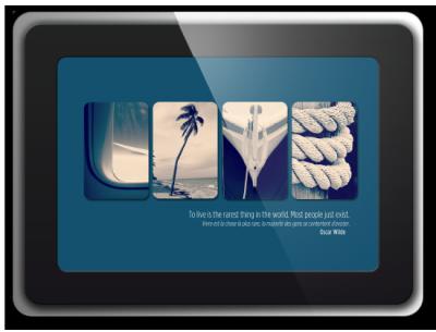 Alphabet photographique. Cadre inspiration Chance, Un cadeau personnalisé et original. Idée cadeaux. Live
