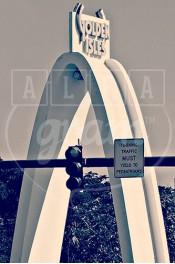 Alphabet photographique. Alfagram, lettre A. Objet déco. Un cadeau photo personnalisé et original. Miami aventura