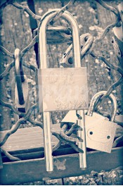 Alphabet photography. Alfagram, Letter art A. Personalized letter art. Perfect gift using alphabet photos. Love locks in Paris