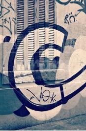 Alphabet photography. Alfagram, Letter art C. Personnalized letter art. Perfect gift using alphabet photos. Graffiti